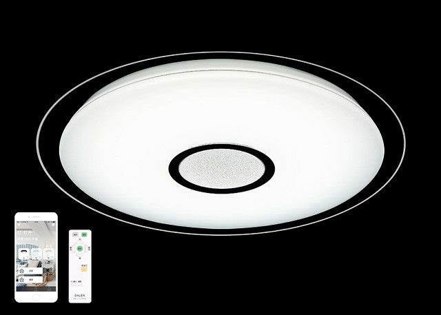 3600LM 38W WIFI Ceiling Light , Small Wireless Ceiling Light For Living Room